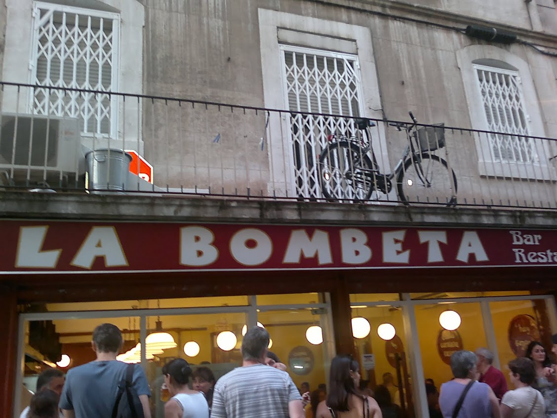 Restaurant La Bombeta, Barcelone