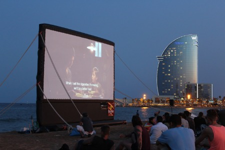 cinema plage