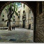 Plaza Felip Neri Barcelone