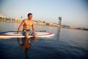 Barcelona paddle