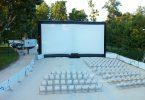 Cinéma en plein air à Barcelone