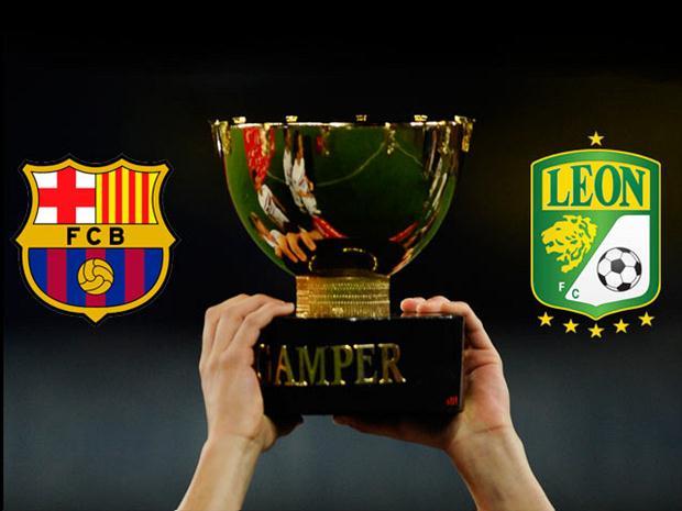 Le trophée Gamper à Barcelone pendant l'été