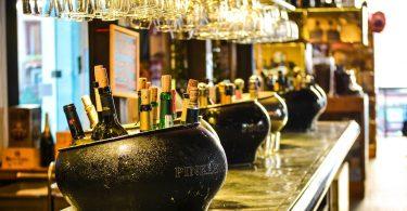 bar à bouteilles