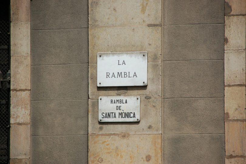 plage de les ramblas barcelone