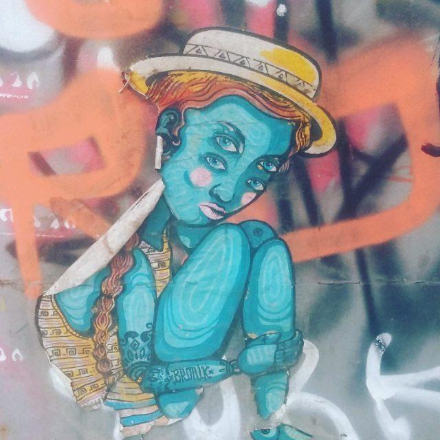 Were still in our streetart week! The Raval is fullhellip