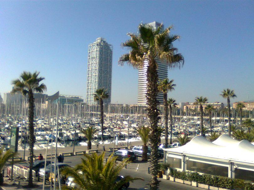 Le port olympique barcelone - Port de plaisance barcelone ...