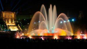 Les fontaines de Montjuic