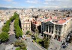 Les plus importantes rues de Barcelone