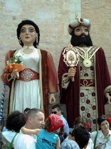 Le roi et la reine du Carnaval de Sitges