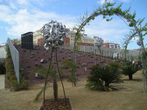 Parc poblenou-paysage lunaire