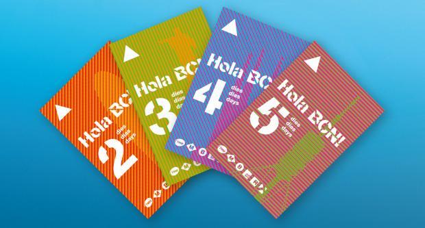 Votre Famille Ou Vos Amis Viennent Visiter Barcelone Cette Carte Est Faite Pour Eux Avec Les Cartes Hola Bcn Vous Pouvez Voyager Sous Forme