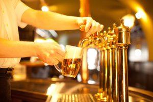 Bière à pression