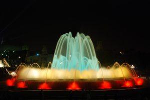 fontaine magique montjuic