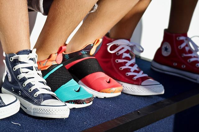 paire de sneakers