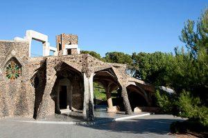 La crypte de la Colonia Guëll
