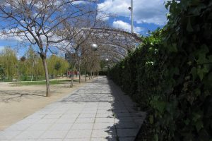 Parc du Poblenou. Photo : Alice Feuardant