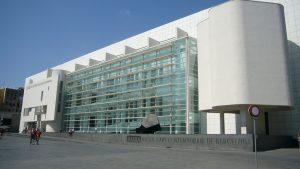 Le MACBA, musée d'art contemporain