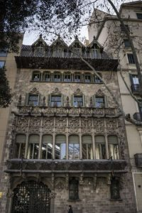 façade palau baro de quadras