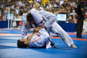 Combat de jujitsu