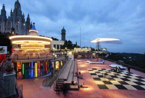 Le parc d'attractions du Tibidabo