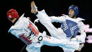 Combat de tae kwon do