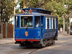 Le tramway bleu