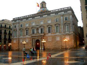barcelone pluie
