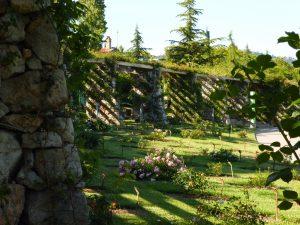 parc cervantes romantique