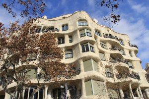 maison moderniste Casa Mila de Barcelone