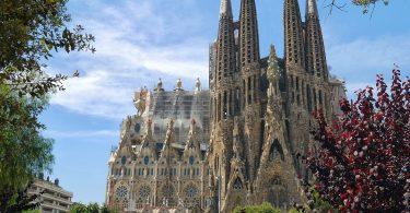 église moderniste Sagrada Familia