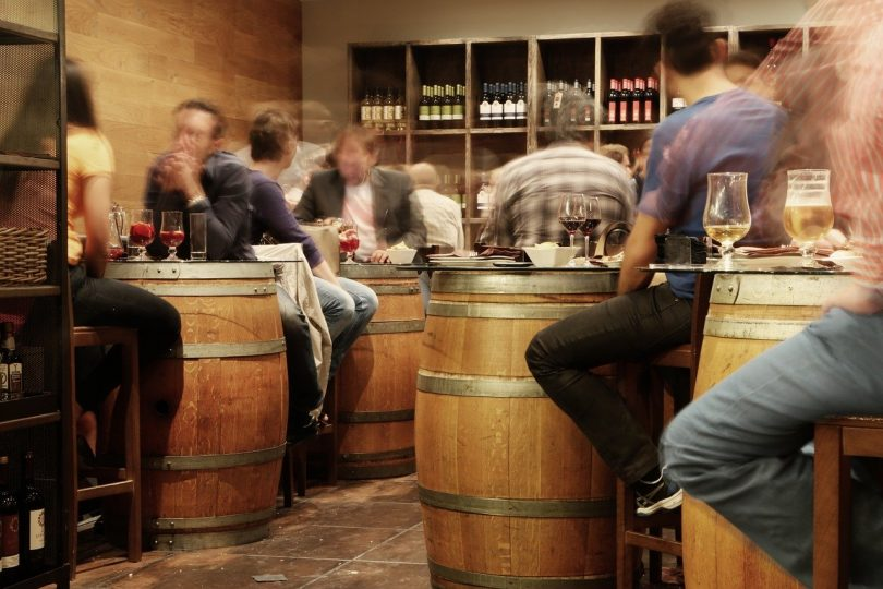 tables de bar rustiques