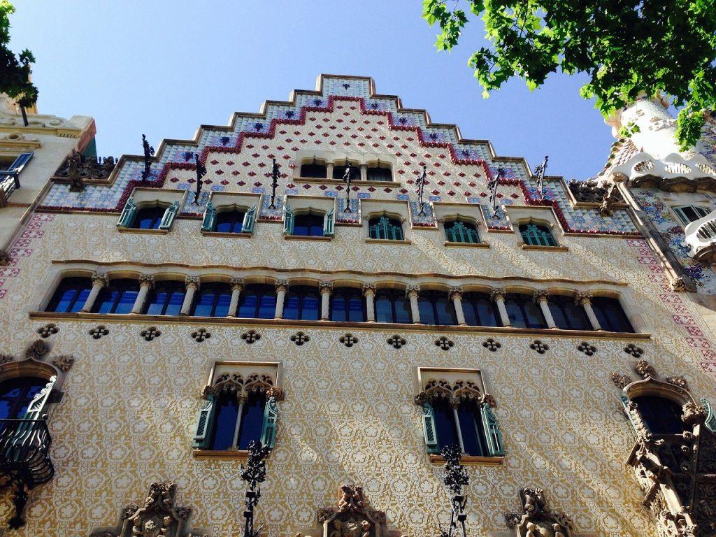 Casa amatller art nouveau barcelone shbarcelona - Art nouveau architecture de barcelone revisitee ...