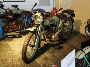 Moto vintage Barcelone