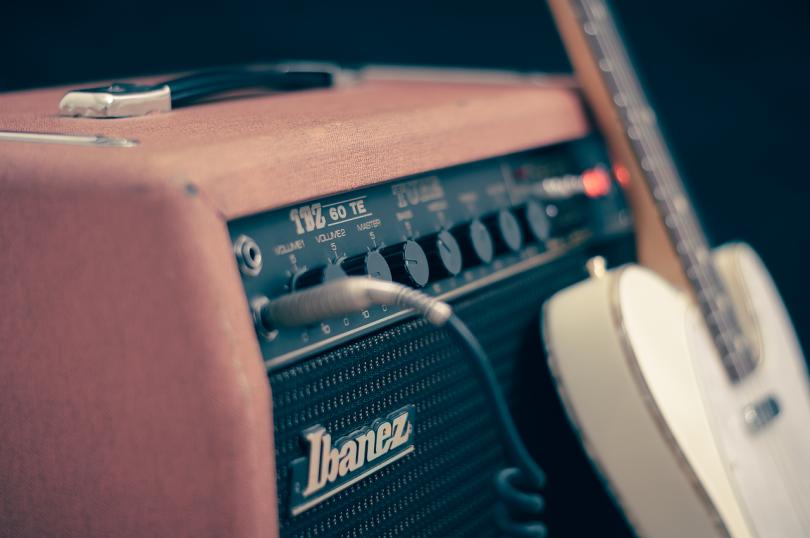 amplificateur de guitare électrique