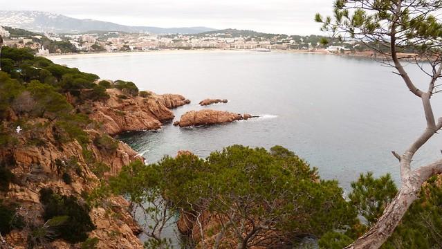 plage St. Feliu de Guix. St Pol S'Agaró