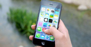 téléphone intelligent iphone