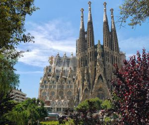 sagrada familia barcelone cathedrale gothique