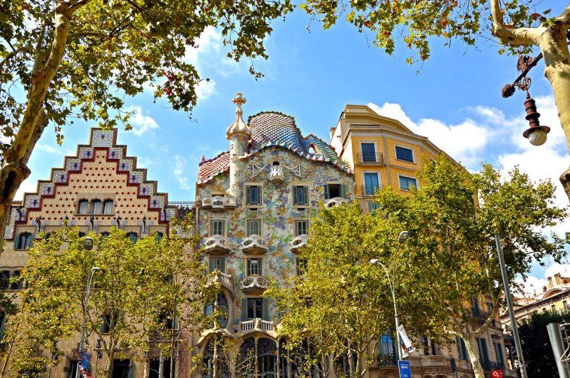 la casa Batlló en Barcelona