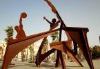 sculpture en métal
