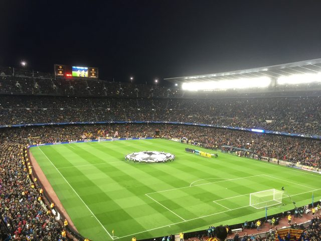 stade de football barcelone