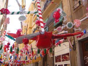 decoration de rue avec papier