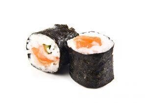 maki de saumon algue et riz