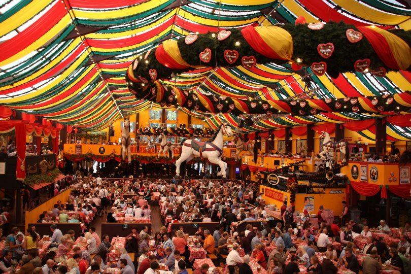 salle du festival de la bière