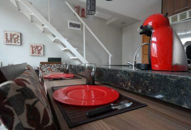 table dans un duplex