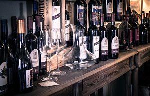 comptoir de vins