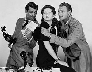 deux hommes et une femme film noir et blanc