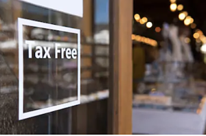 porte avec tax free