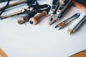 outils de travaux manuels