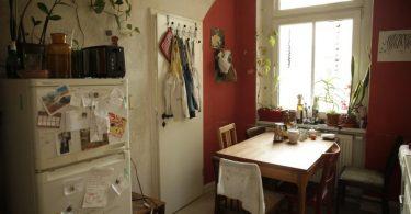 cuisine d'un logement pour jeunes