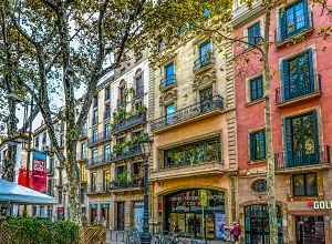 immeubles de barcelone